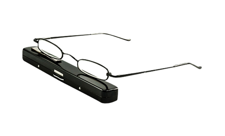 bca4712949f5 Slim Jim | Miniscule Tube Reading Glasses, Tiny Spectacles in a hard ...